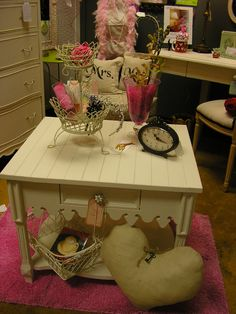 Cottage-Style Side Table