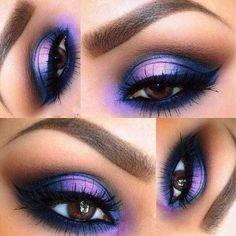 Gorgeous Makeup: Tips and Tricks With Eye Makeup and Eyeshadow – Makeup Design Ideas Eye Makeup Cut Crease, Dramatic Eye Makeup, Purple Eye Makeup, Eye Makeup Art, Makeup For Green Eyes, Eye Makeup Remover, Eye Makeup Tips, Eyeshadow Makeup, Makeup Trends