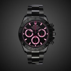 Pink Rolex Daytona: Vale!!! Love this. Only 20 made. A cool $19000. #rolex #watch