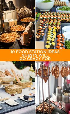 10 Food Station Ideas Guests Will Go Crazy For: Guests will be thrilled to be greeted by a soft pretzel station at your reception. Click for other crazy fun ideas: http://www.colincowieweddings.com/food-and-drink/10-food-station-ideas-guests-will-go-crazy-for