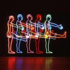 BRUCE NAUMAN http://www.widewalls.ch/artist/bruce-nauman/ #performance #art #sculpture