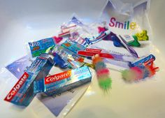 The amount of plastics we acquire at the dentist's office is just too much. Our Trip To The Dentist and the Plastics Therein. Photo © Liesl Clark