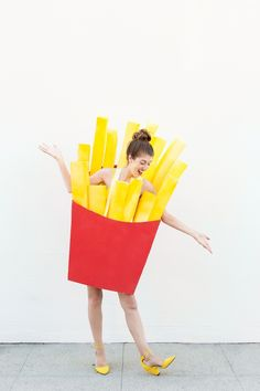 DIY Fries Before Guys Costume | studiodiy.com