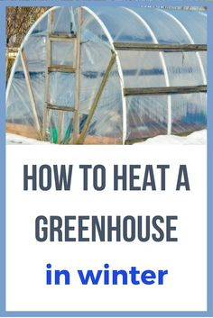 To Heat A Greenhouse In Winter Love this! This is really great info on how you can keep your greenhouse warm during the winter! This is really great info on how you can keep your greenhouse warm during the winter! Winter Greenhouse, Outdoor Greenhouse, Backyard Greenhouse, Small Greenhouse, Greenhouse Ideas, Greenhouse Wedding, Homemade Greenhouse, Backyard Chickens, Pallet Greenhouse