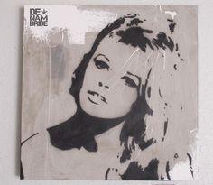 Brigitte Bardot by DENAMBRIDE (concrete canvas)