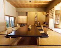 japanese dining room furniture from hara design | japanese style