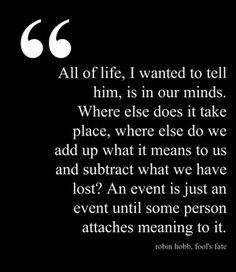 Robin Hobb quote