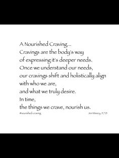 A Nourished Craving Is An Original Piece #nourishedcraving