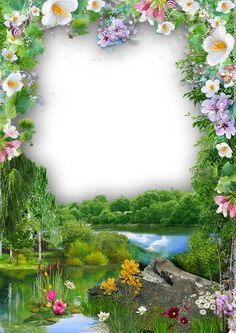Boarder Designs, Frame Border Design, Page Borders Design, Family Photo Frames, Picture Frames, Photo Backgrounds, Wallpaper Backgrounds, Marco Digital, Picture Borders