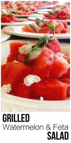 ... salad with feta mint watermelon heirloom tomato and feta salad chopped