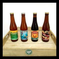 Beer from brasserie de la Senne for the Afterwork every last thursday of the month at SUP!