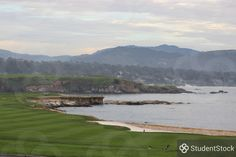 """StudentStock - """"Pebble Beach golf Course"""" by Nicholas Forbes"""