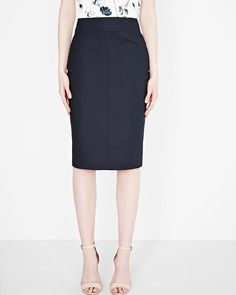 Modern Chic Pencil Skirt