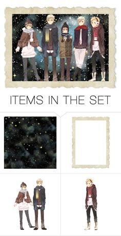 """""""A Crazy Big Family"""" by chibi-space-gal ❤ liked on Polyvore featuring art, anime, Hetalia, artset and artexpression"""