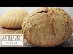 Pan casero crujiente en 50 minutos | Cocina