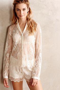 Ivoire Lace Pajama Set by Eloise