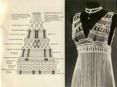 Resultado de imagen de macrame dress pattern