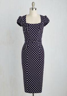 1940s polka dot style pinup dress. Dot You Agree Dress $189.99 AT vintagedancer.com