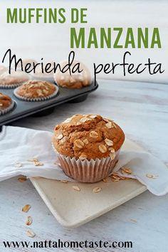 Healthy Cupcakes, Tea Snacks, Healthy Sweet Snacks, Snacks Saludables, Pan Dulce, Sweet Breakfast, Mini Desserts, Sweet Recipes, Bakery
