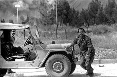 Bombardment of Aboozar Garrison in Iran Iran-Iraq War.