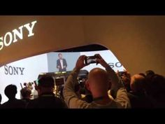 Liked on YouTube: Sony CEO Kazuo Hirai Talks At Constipated CES 2016 Press Event #CES2016
