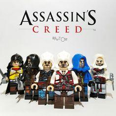 Assassin's Creed - Lot de 6 Minifigures compatible lego