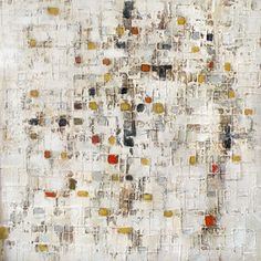 Patchy Square Painting Print on Canvas