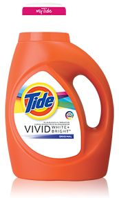 Tide Vivid White + Bright Liquid Laundry Detergent