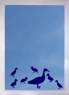 Ente mit Küken - 7-teiliges Folientattoo Set von DOON Germany auf DaWanda.com