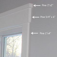 25 Astonishing Eksterior & Interior Window Trim Ideas for Your Dreamed House! - Home Decor Ideas Home Diy, Craftsman Window Trim, Home Remodeling, Craftsman Trim, New Homes, Craftsman House, Window Trim, Craftsman Windows, Home Decor