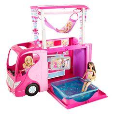 Camping-Car Barbie / Intermarché : 75,95 € - 40% soit 45,57 €