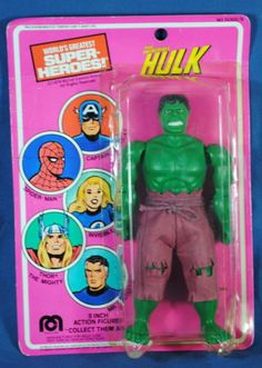 VINTAGE MEGO INCREDIBLE HULK ACTION FIGURE MOC