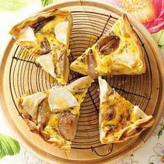 Lekker recept! Alleen gebruik ik geen croissantdeeg maar gewoon bladerdeeg.
