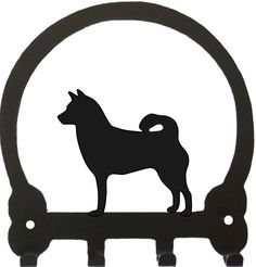 For Shiba Inu owners, this charming handmade key rack makes the perfect gift…