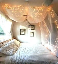 Teen canopy beds with lights best bed ideas dorm room diy 8 canopies perfect for your . canopy with lights bedroom purple bed dorm room hanging diy . Teen Canopy Bed, Queen Size Canopy Bed, Canopy Bed Curtains, Canopy Bed Frame, Wood Canopy, Diy Home Decor Rustic, Grey Home Decor, Diy Home Decor Bedroom, Teen Room Decor