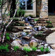 Water features are a popular way to connect to nature.