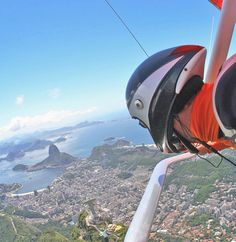 One of the best locations for hang gliding is Rio! Views of the beautiful city and water. #Brazil #iGottaTravel