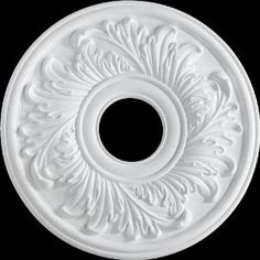 Quorum 7-2603-8 Ceiling Medallion 16, Studio White Finish