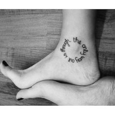 """""""The only way out is through."""" 
