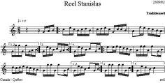Reel_Stanislas Dion, Diagram, Folk Music, Folk Dance, Music School