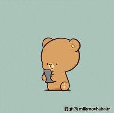 Cute Hug, Teddy Bear Gifts, Teddy Bears, Kawaii Cat, Bear Cartoon, Cute Bears, Comic Strips, Mocha, Charlie Brown