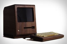 You won't mistake it for anything coming directly from Cupertino, but the Golden Apple Macintosh Replica remains a fitting tribute to the original Mac 128K. By replacing the molded plastic body with hand carved American Walnut, it elevates the iconic...