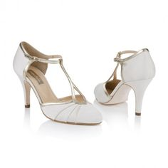 Rachel Simpson Shoes - Orla Ivory Satin - Gorgeous too! http://www.rachelsimpsonshoes.co.uk/shop/orla-ivory-satin/