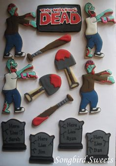@Christy Gupta Just in case you need cookie ideas during a zombie apocalypse;)