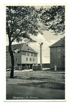 Königsberg Pr. Kaserne 1941