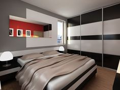 Apartment Bedroom Design Ideas - Apartment Bedroom Design Ideas, then you certainly want to appear up these interior patterns that may helpful for you personally. Tiny room of condominium are #ideas http://amzn.to/1sSjjIl | #HOMEDESIGN #apartement #accentwalls