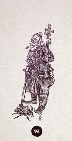 Gnomish bards, why wouldn't they have a clockwork beetle?