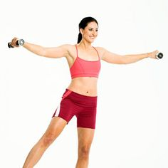 Work Your Lat Muscles: Lateral Lift - Fitnessmagazine.com