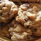 White chocolate macadamia cranberry cookies