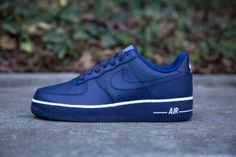 NIKE AIR FORCE 1'07 LOYAL BLUE www.cornerstreet.fr